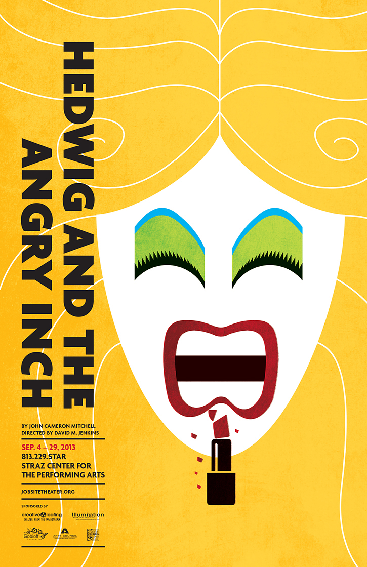 Hedwig and the angry inch poster on behance biocorpaavc