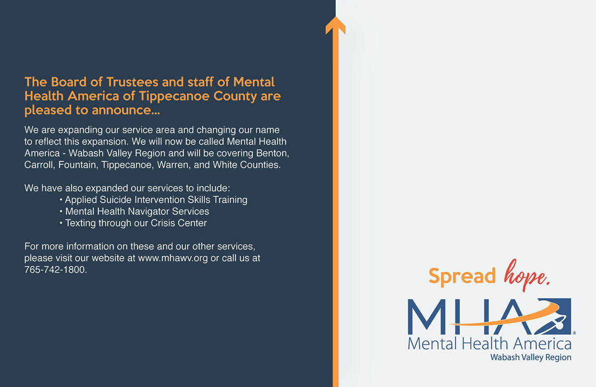 Mental Health America Crisis Center On Behance