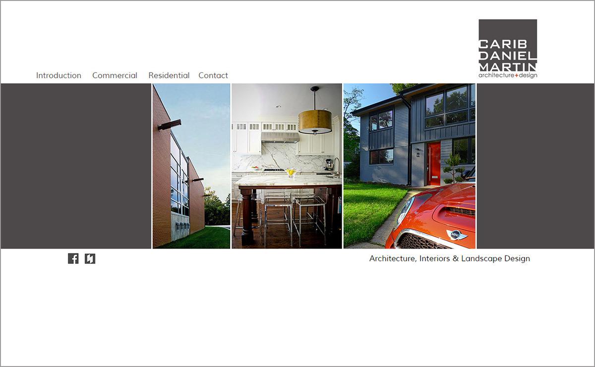 architecture minimalist stylish design geometric Web Design