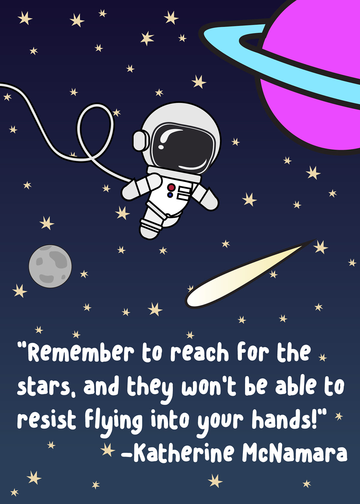 Motivational Space Posters on Behance