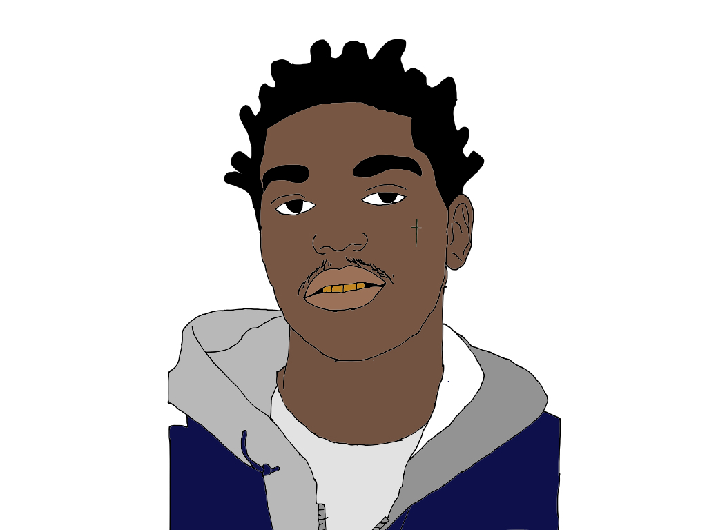 Watch besides Graffiti Cartoon Characters Gangster further Scarface Psd 443246 in addition Lil Pump Wallpapers additionally Kodak Black 641844650. on boondocks coloring pages