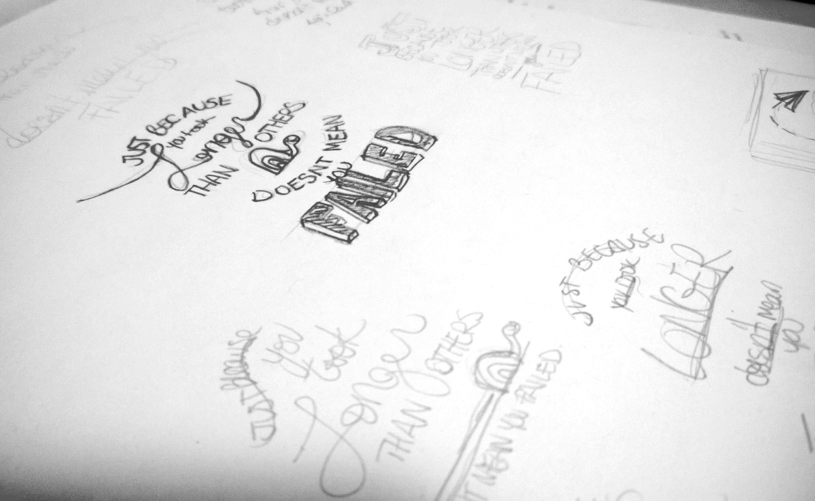 One Line Art Quotes : Graffiti quote one of my favorite quotes scrawled on the u flickr