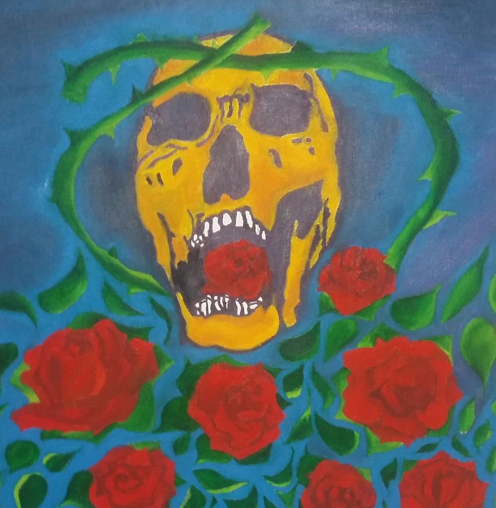 artesvisuais pinturaaoleo oilpainting visualart skullartwork artesdecaveiras