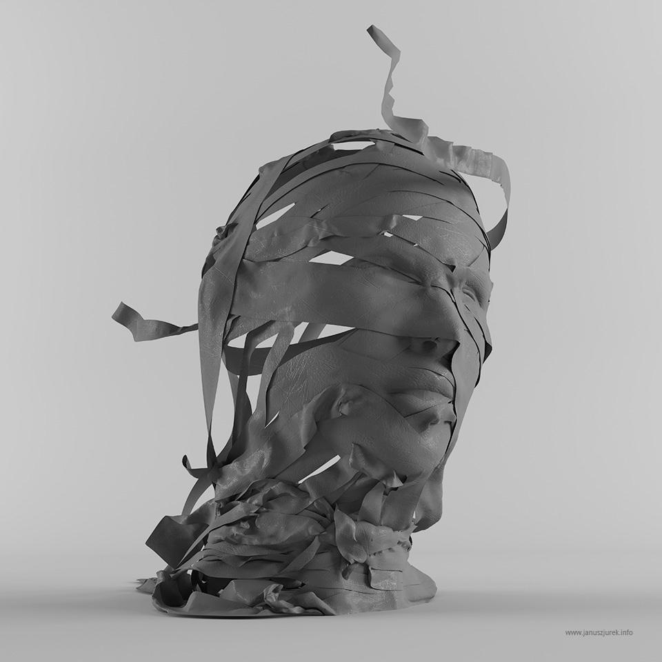 Clothing sculpture by Janusz Jurek #artpeople