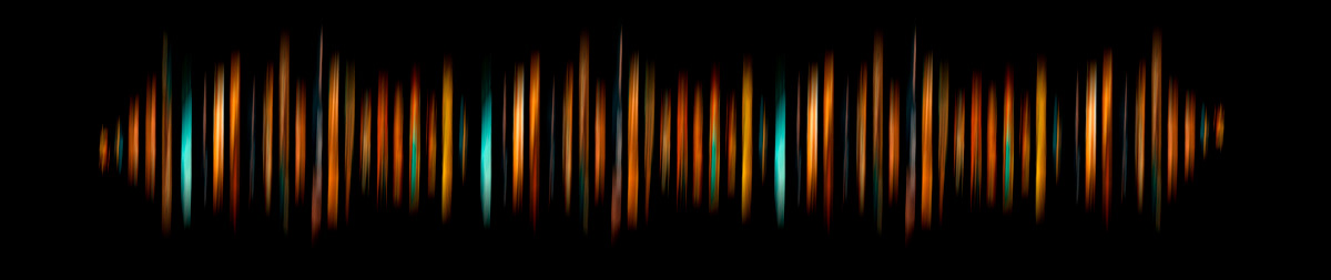 Image may contain: light, dark and night