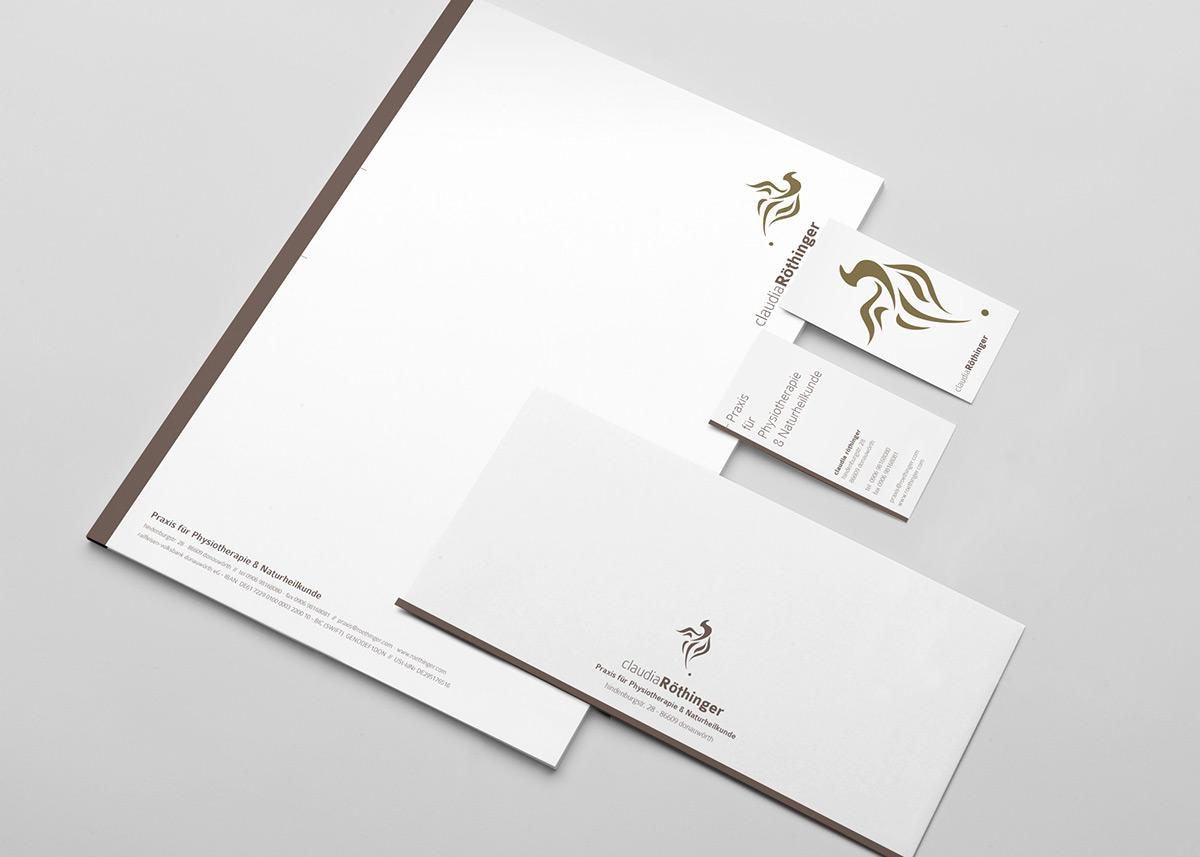 Claudia Röthinger Physiotherapie Brand Design On Behance