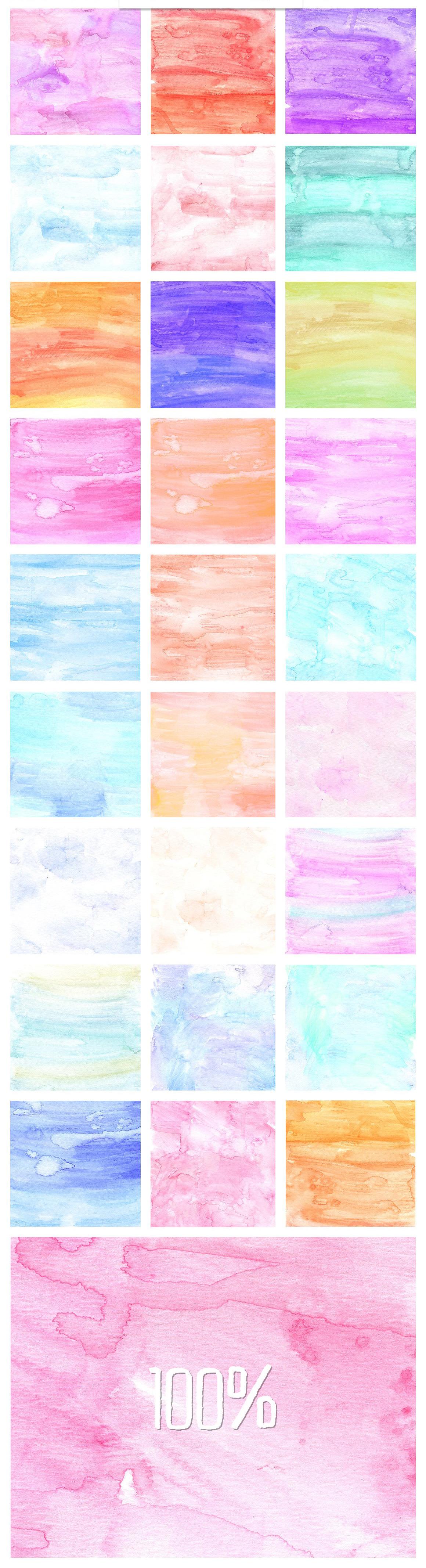 33 Free Handmade Digital Watercolor Paper Textures On Behance