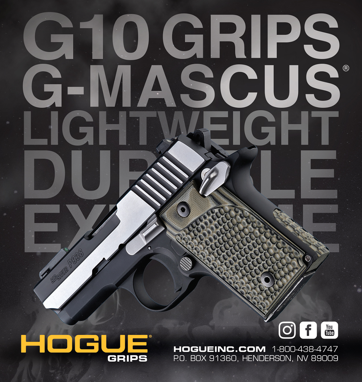 Hogue Inc  Magazine Advertisement Campaign on Behance