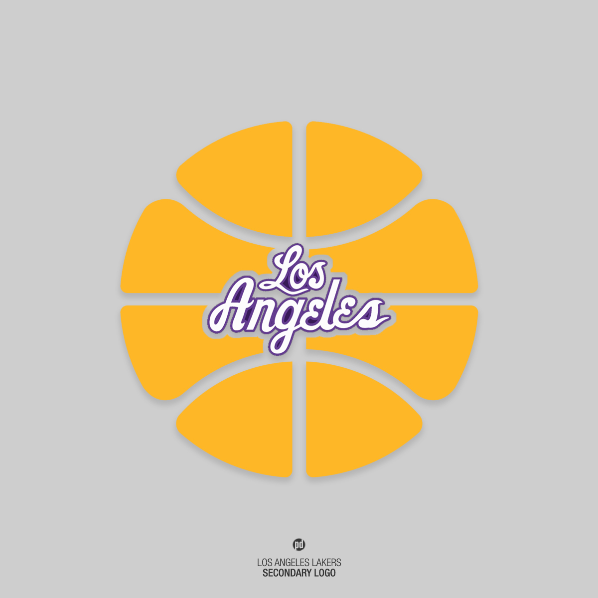Los angeles lakers rebrand on behance voltagebd Image collections