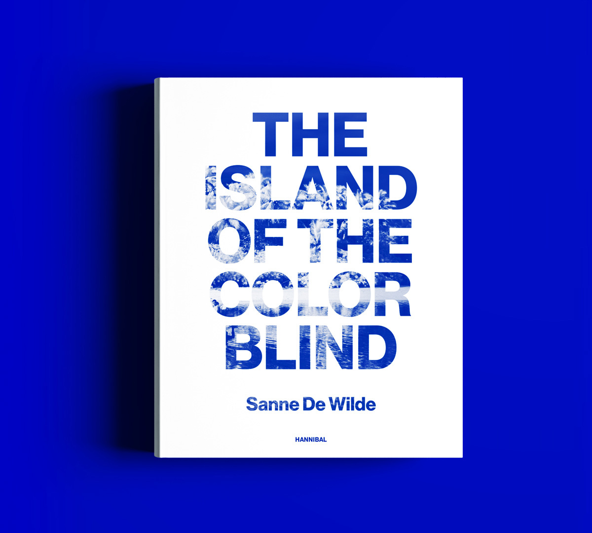 The Island of the Colorblind (UV sensitive bookcover) on Behance