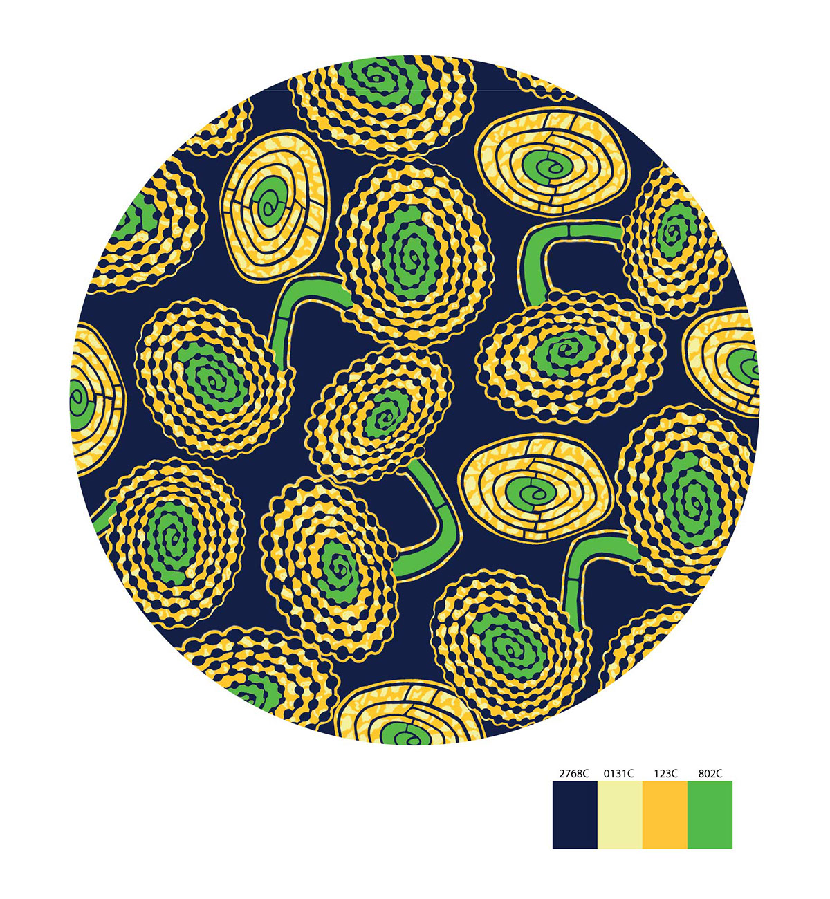 Pattern Design/African Batik On Behance