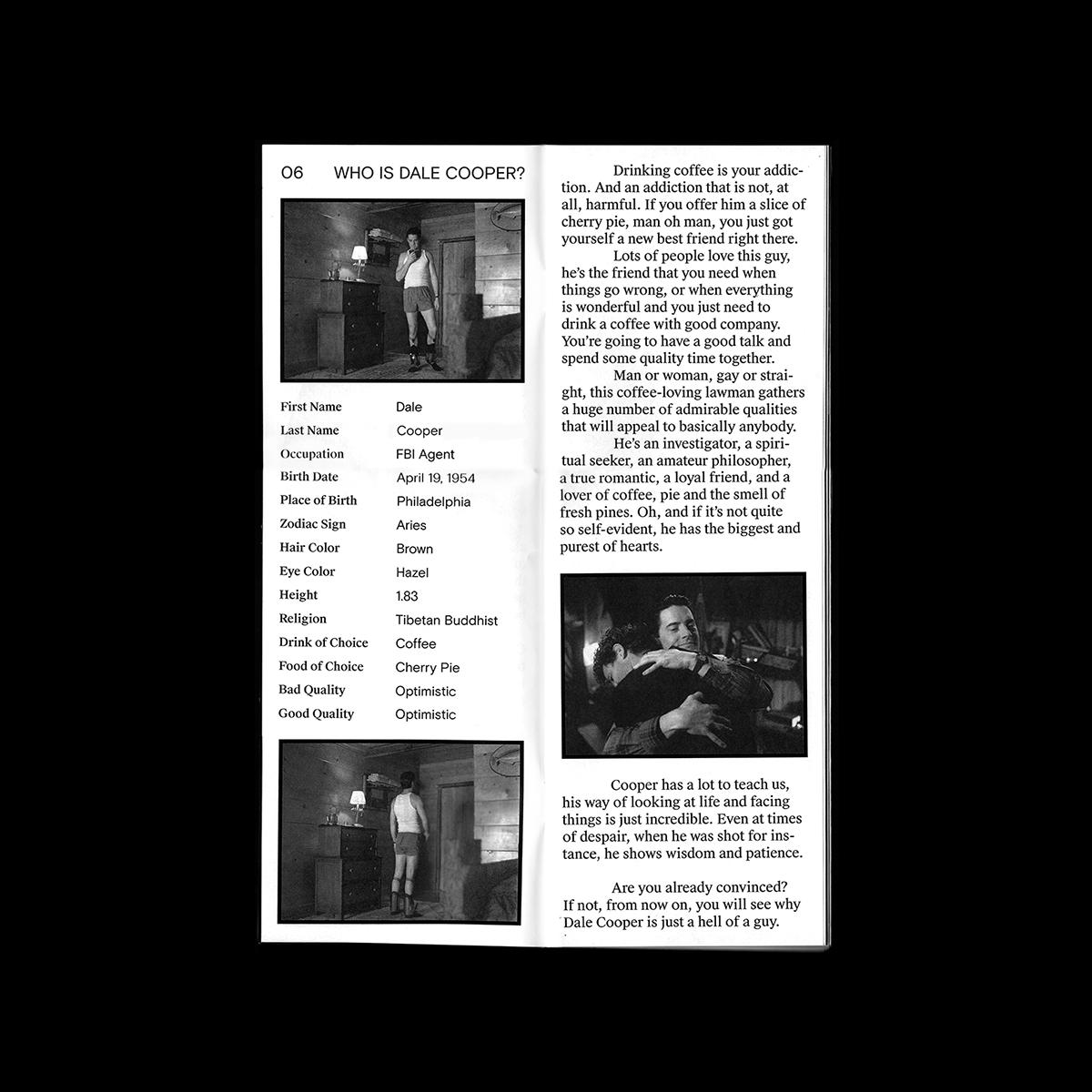 twin peaks fanzine dale cooper