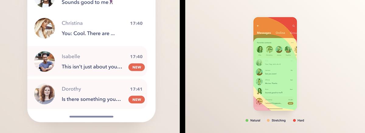 iphone UI ux Interface app design user interface user experience san francisco UI/UX Design Agency top app designers