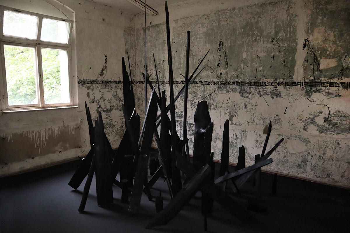 Amazon Art Installation the krank berlin contemporary art urban art Berlin art street artist installation climate change