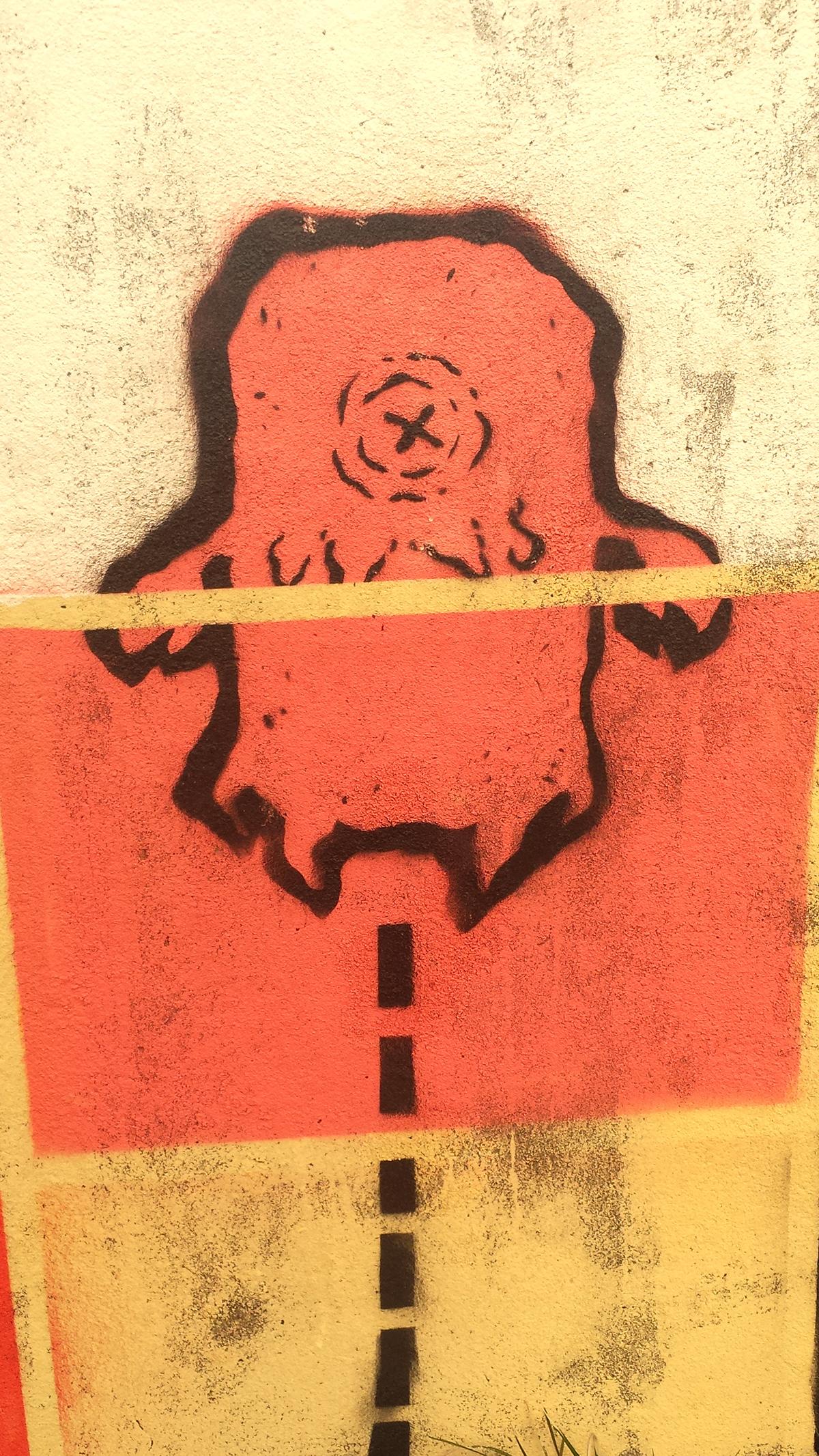 urban art Street Art  graffiti art Montana 94 montana colors cans wall painting geometric Galifornia Beat