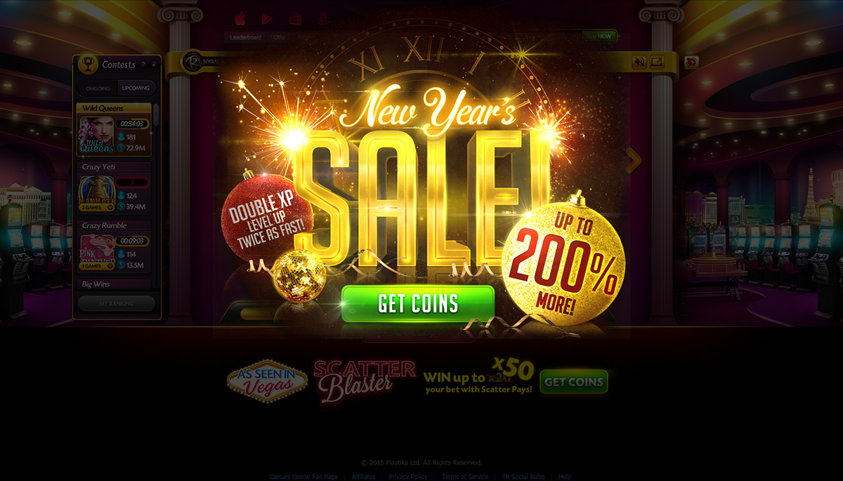 NY new year 20163d photoshop sale beautifull ceasers casino