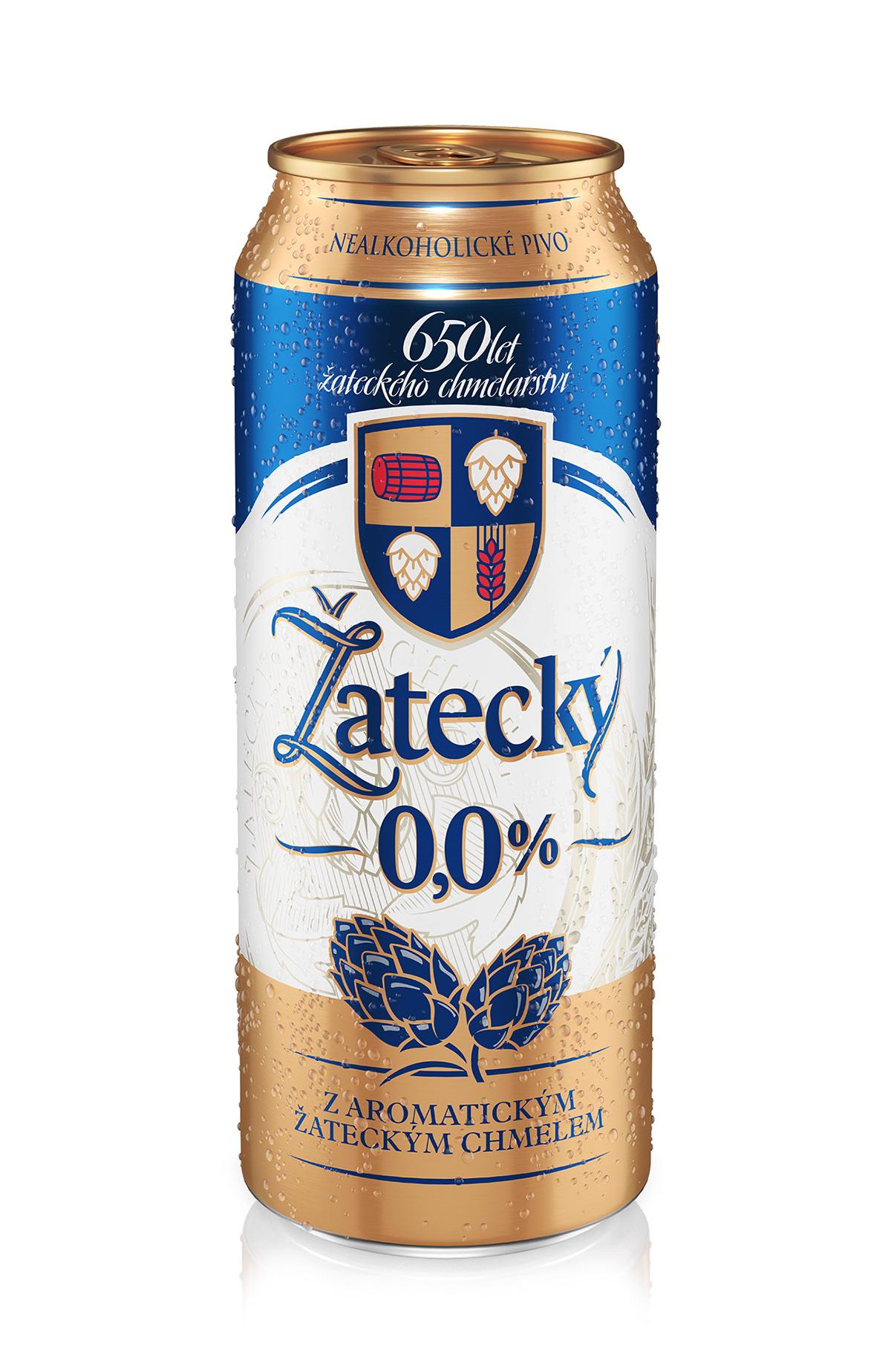 beer Packshot piwo Render Zatecky
