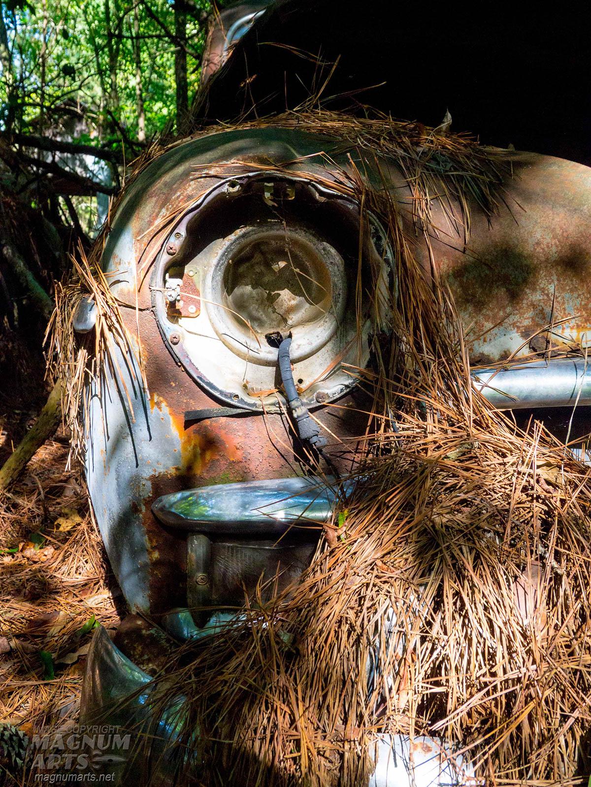 Old Car City junkyard antique cars