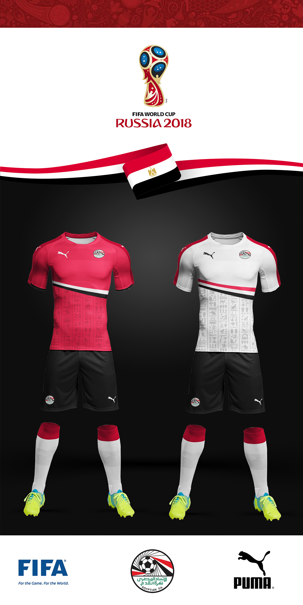 Egypt National Football Team Shirt 2018