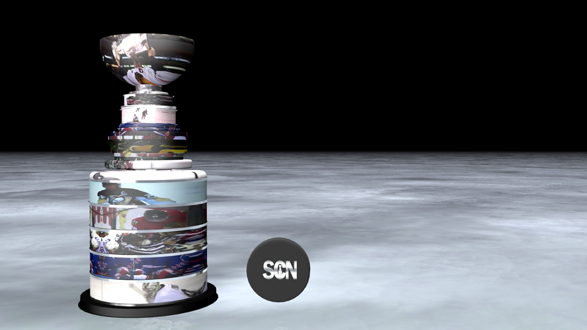 storyboard hockey NHL Blue Jackets columbus tv TV Push sports wireframe rendering stanley cup tv network logo motion graphic