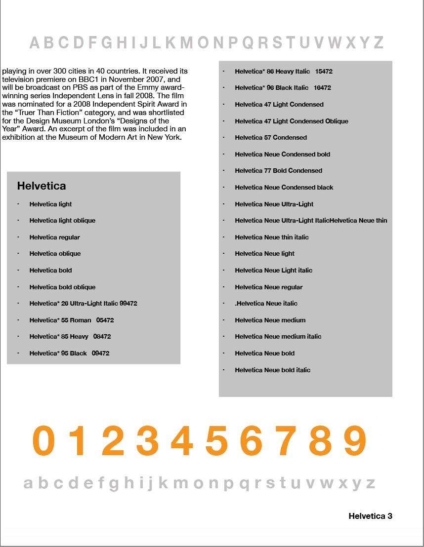 Helvetica flats on Behance