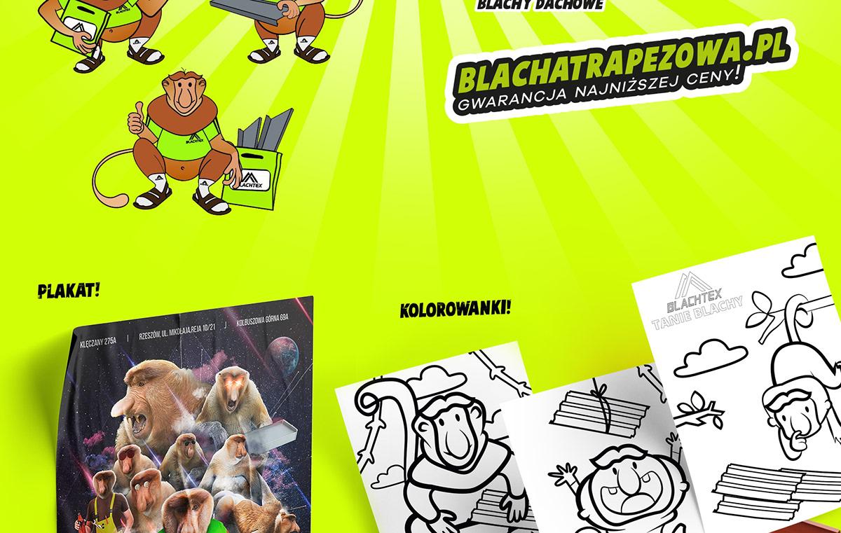 monkey, poster, drawings