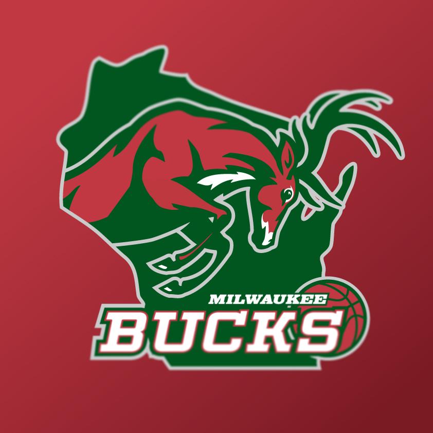 Milwaukee Bucks: Milwaukee Bucks Logo Concept On Behance
