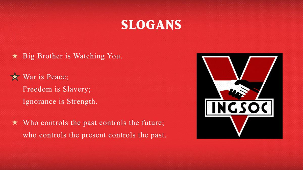 INGSOC Propaganda on Behance