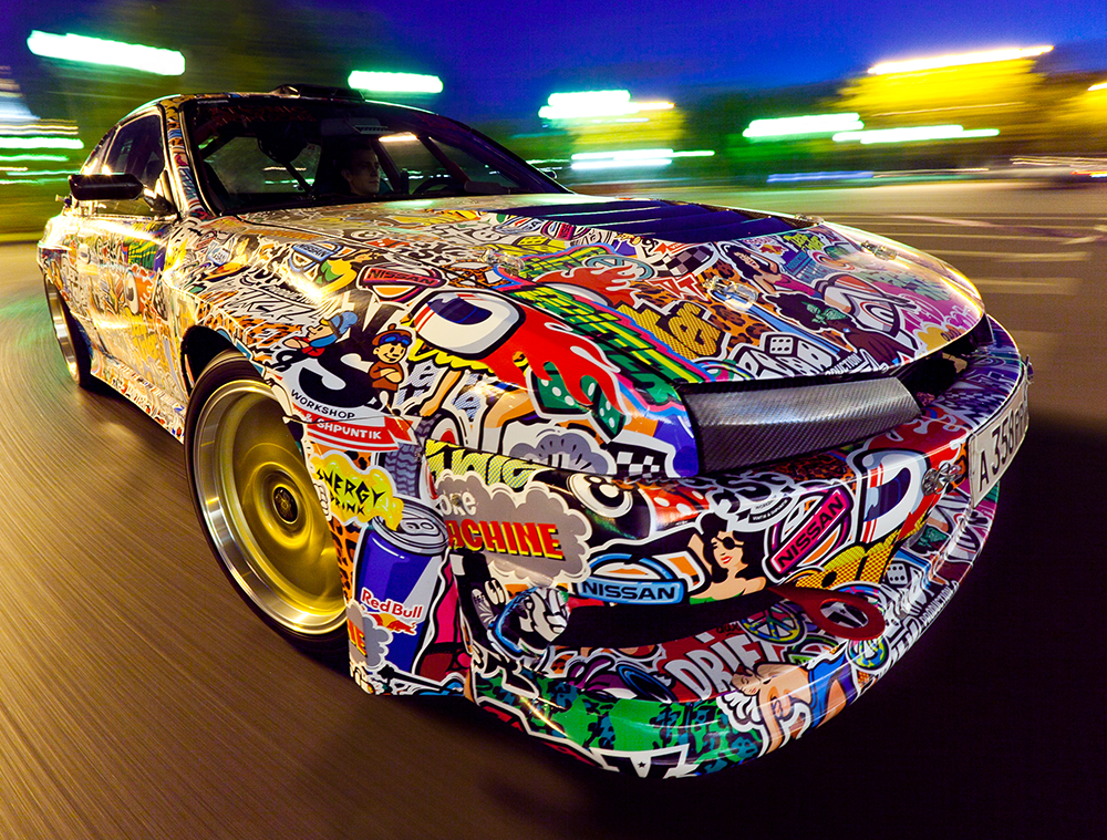 NISSAN SILVA SX DRIFT CAR GRAPHICS On Behance - Best automobile graphics and patterns
