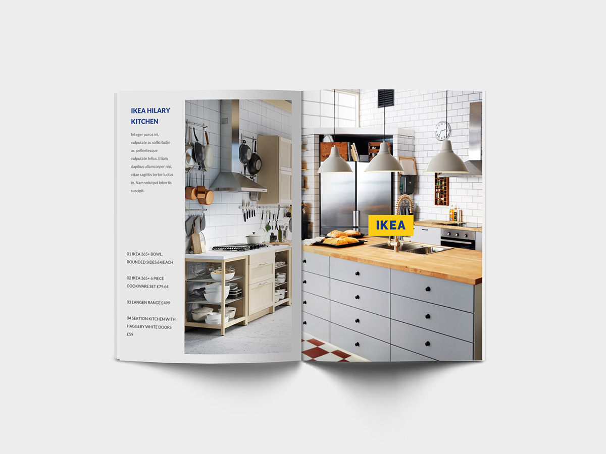 Ikea rebrand concept on behance for Concept ikea