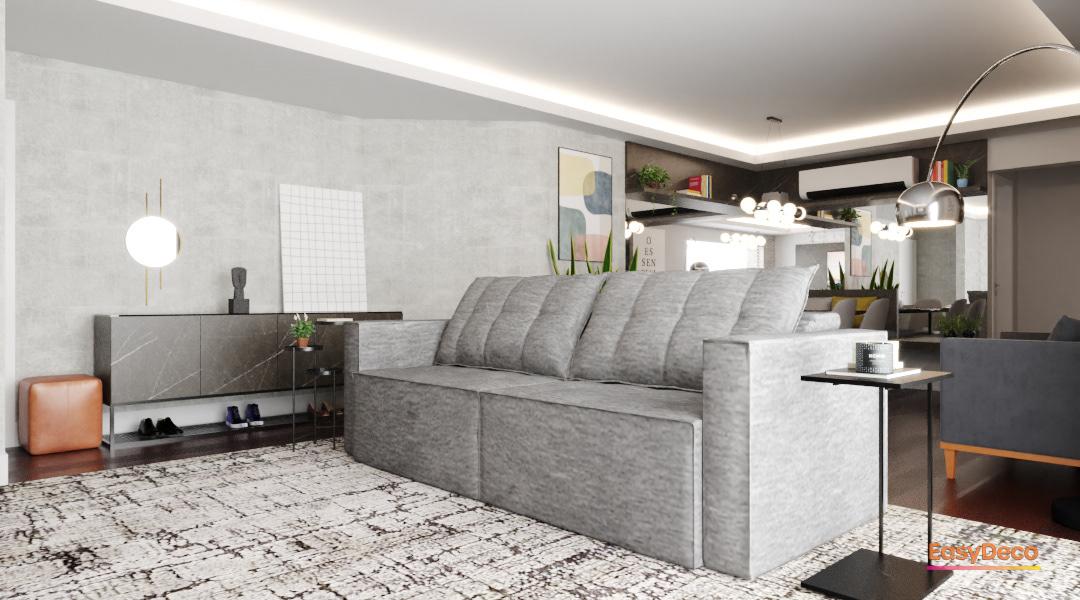 architect ARQUITETURA arquitetura de interiores decor design interior design  preto na decoração projeto online sala integrada
