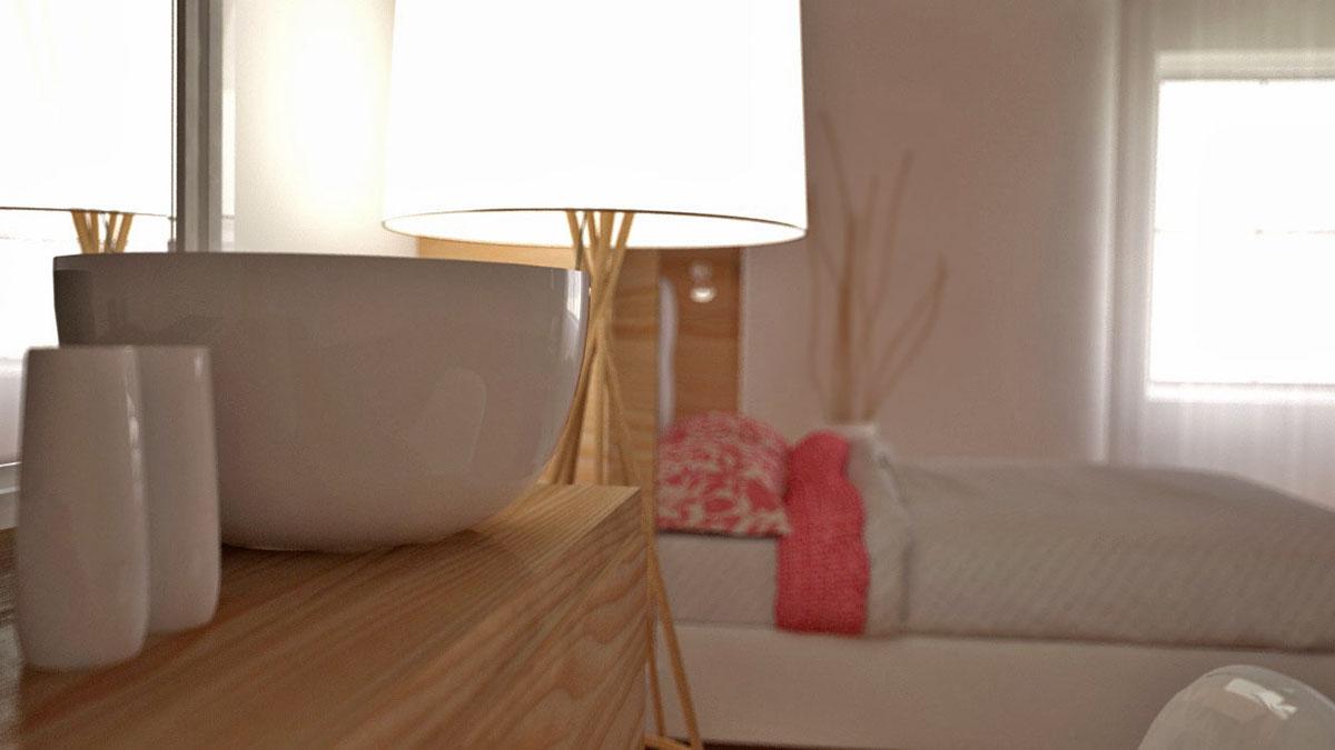 bedroom design Interior wood minimalist simple modern