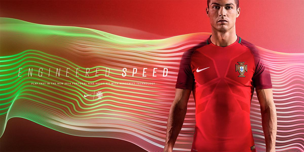 CGI 3D motion capture football euro 2016 Nike kit vray