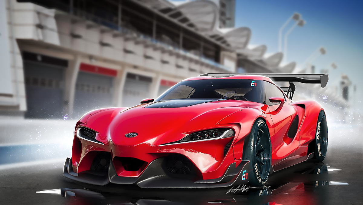 Toyota Ft1 Wide Body Kit On Behance