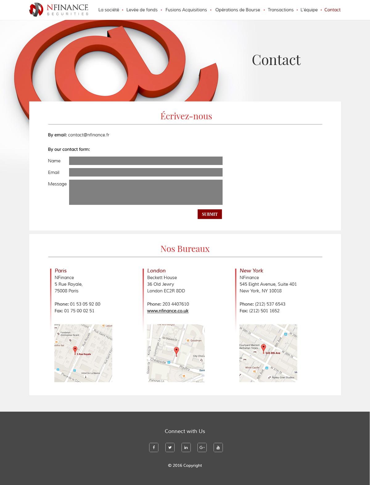design Webdesign site web