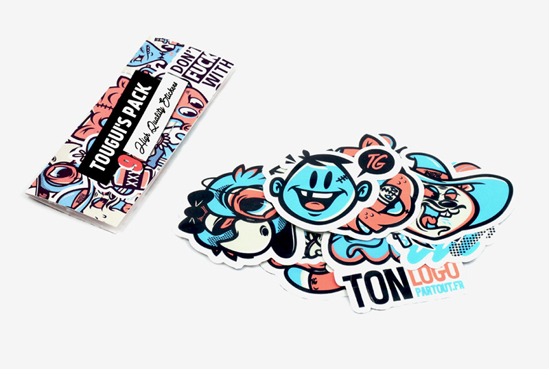 Tougui x ekiem x apo x tlp sticker pack on behance