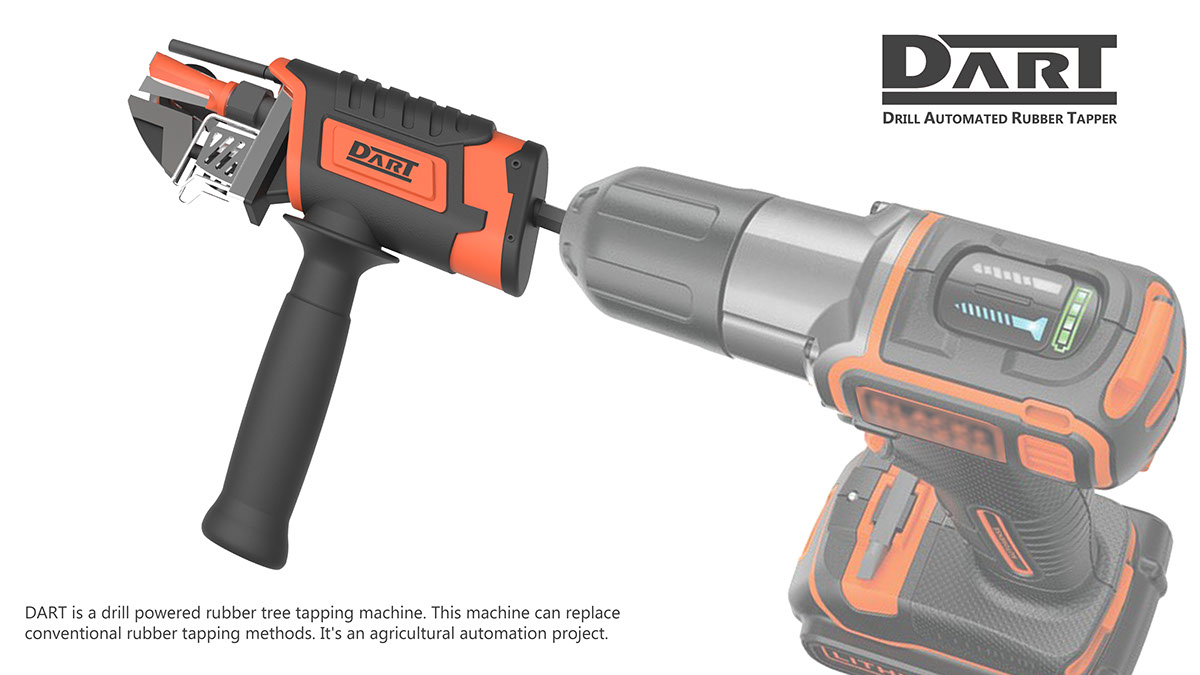 DART : Drill Automated Rubber Tapper on Behance