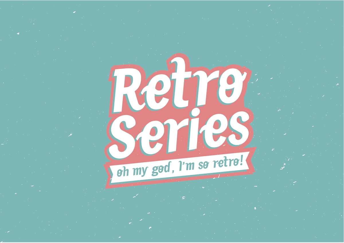 Retro Series Font on Behance