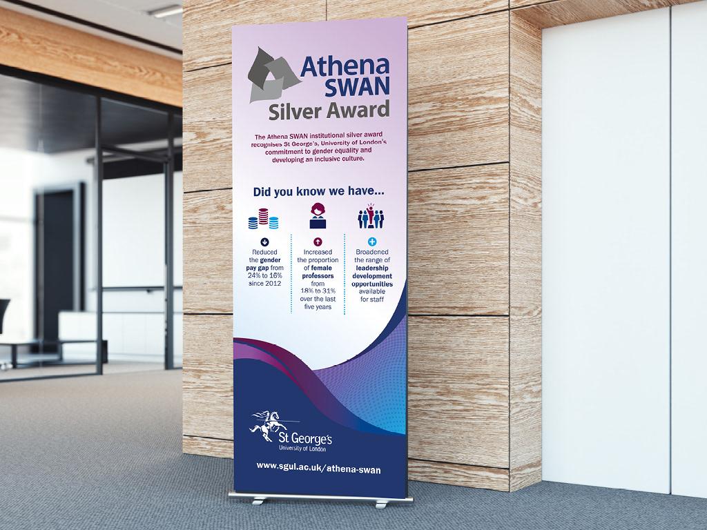 athena award equality inclusion University college medical Gender women