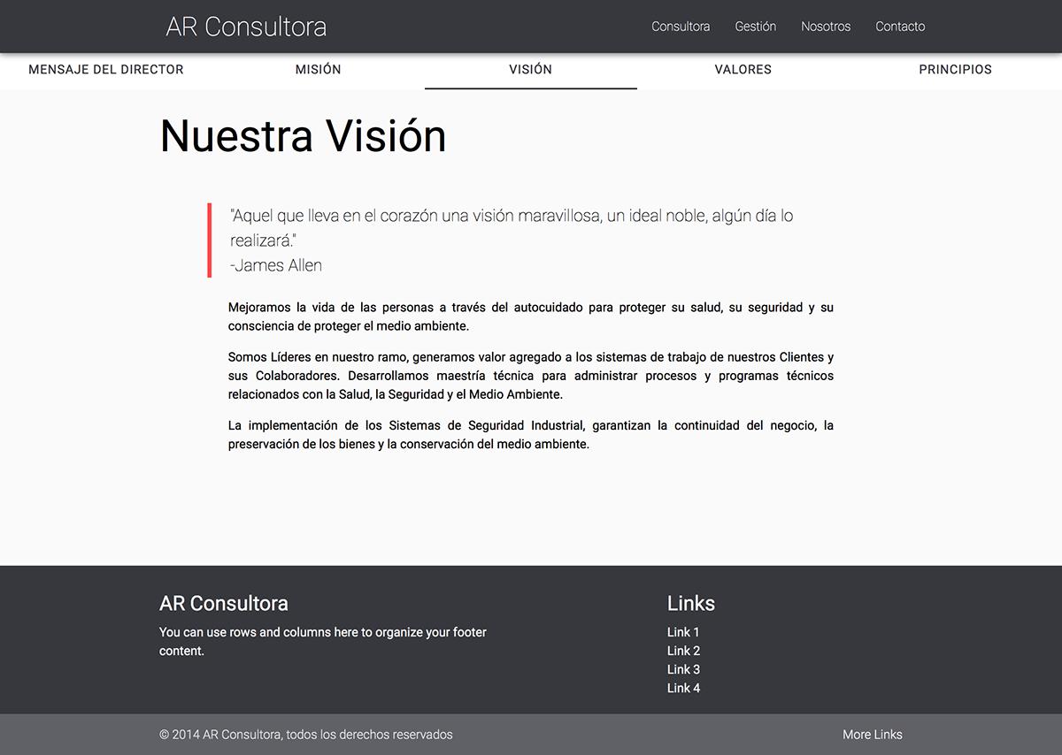 Web material development