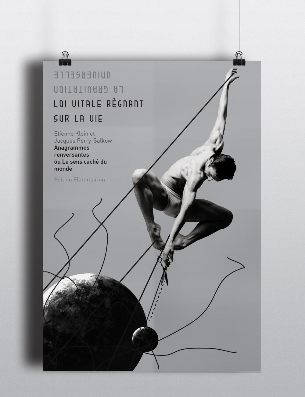 Conception Graphique edition Flammarion anagrammes reversantes Paris typo