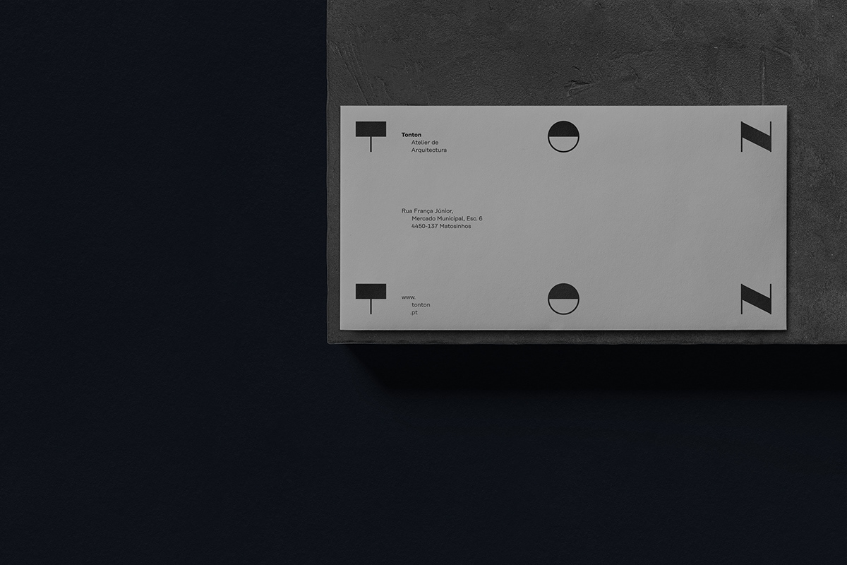 another collective architecture ARQUITETURA atelier branding  Tonton identity Logotype