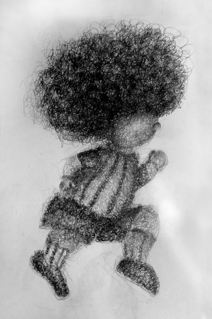 characters texture Drawiing ilustration