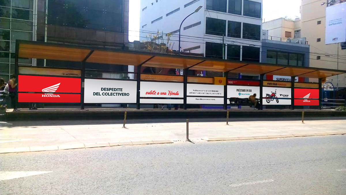 Advertising  publicidad campañas Motos Honda