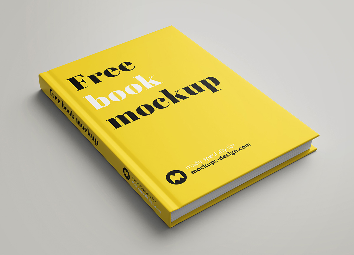 free book mockup on behance