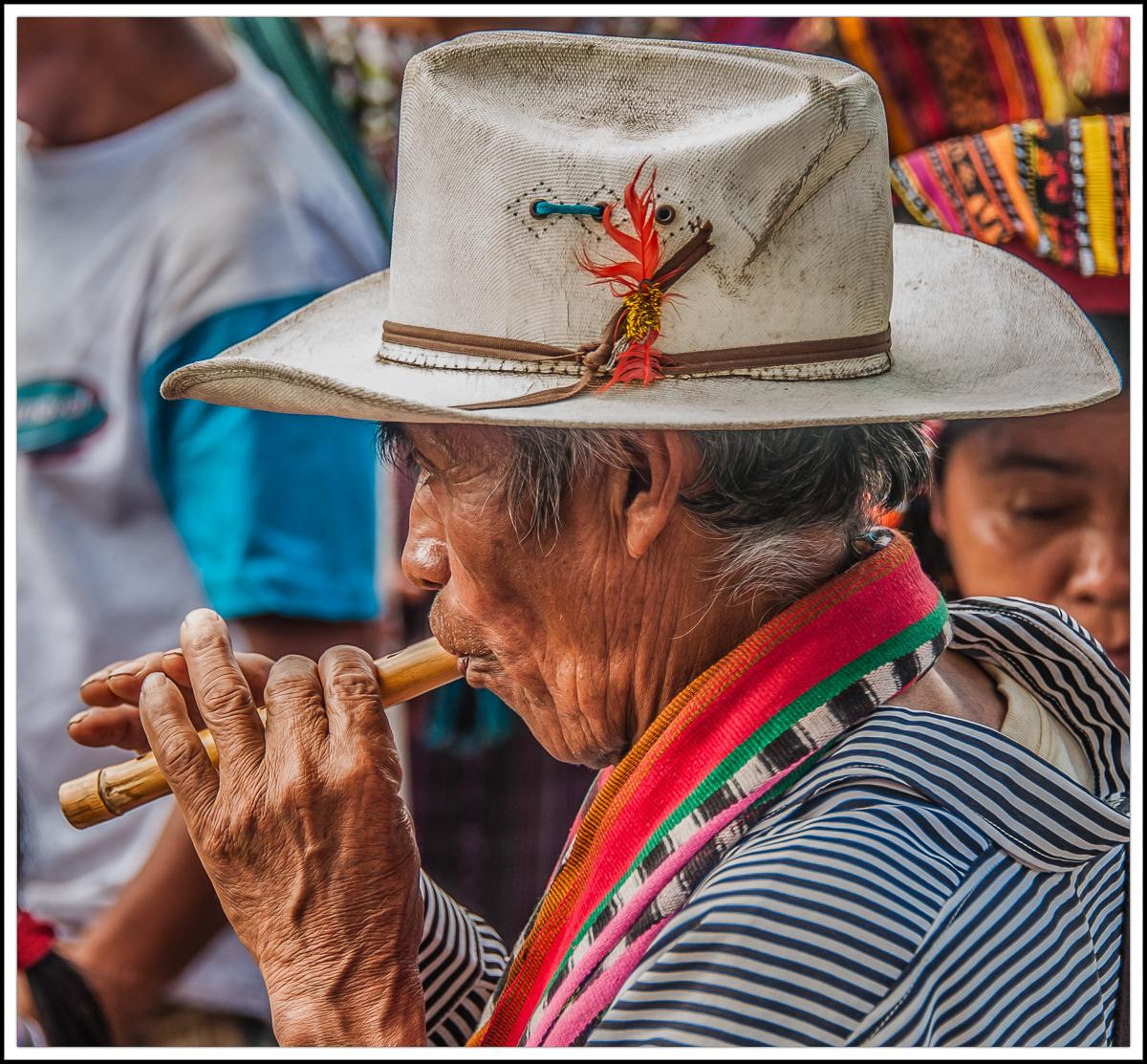Guatemalan Flute Player