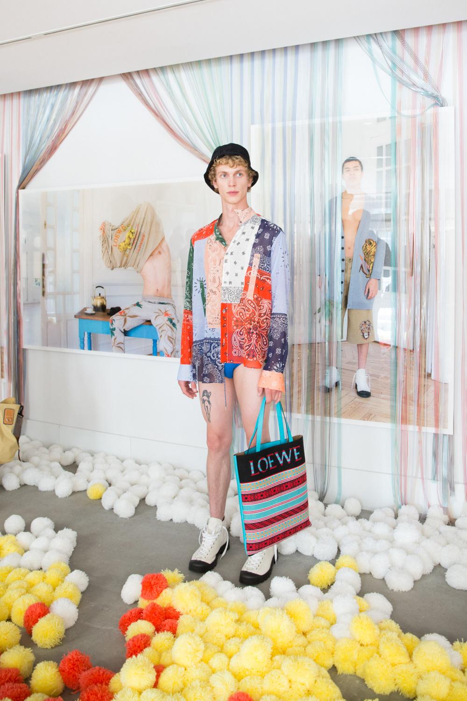 Fashion  Photography  Dario Ruggiero loewe Departamento Lookbook fashionphotography Paris paris fashion week