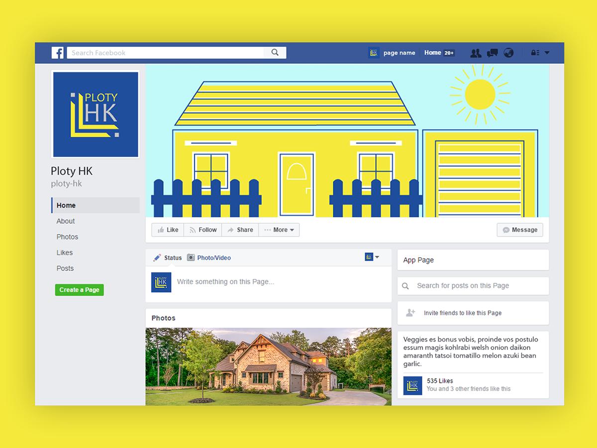 fence company social media profile line motion graphics