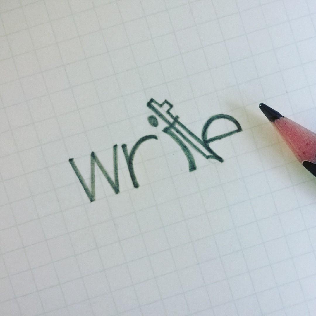 verbicon nounicon VERB noun Icon cimple sketch clever logo design