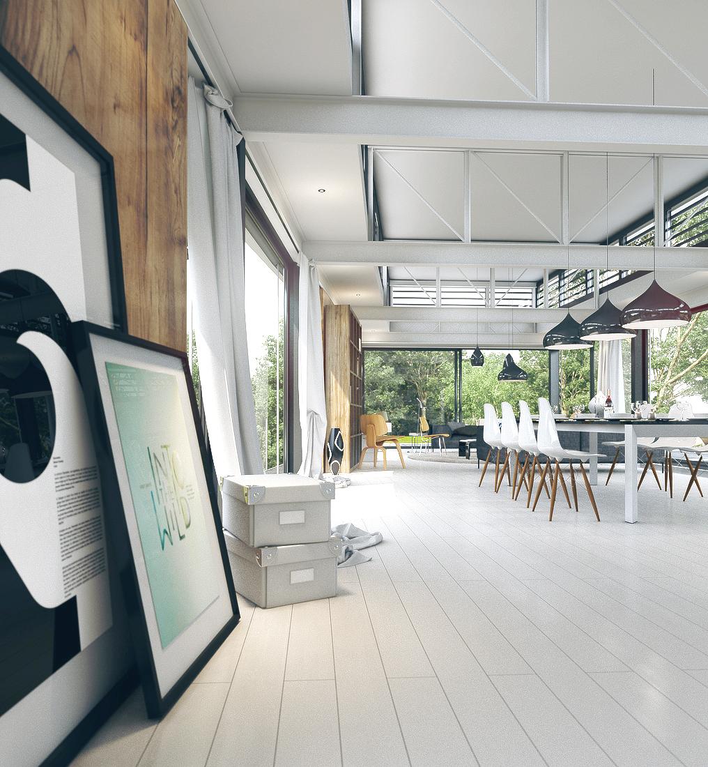 Modern House Geneva On Behance